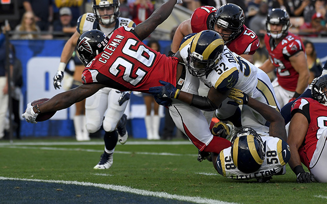 Falcons Rams Football