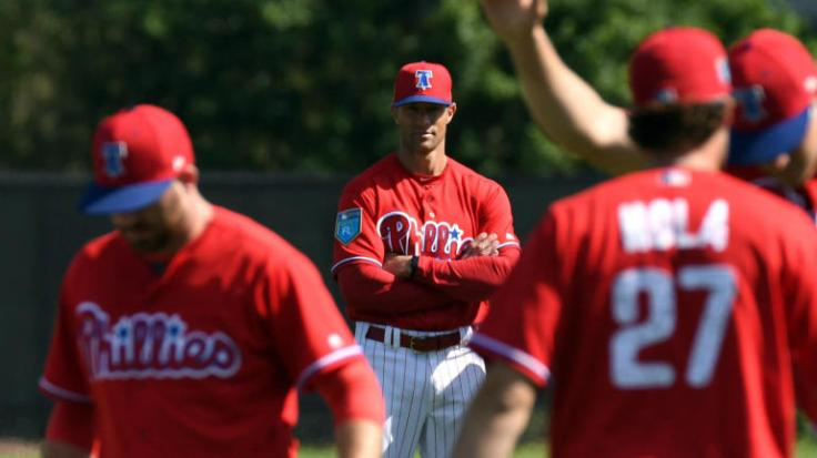 Gabe Kapler as Phillies manager