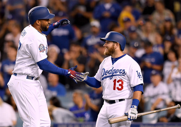 Matt Kemp and Max Muncy
